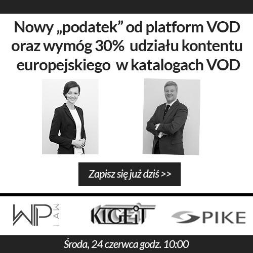 """Nowy """"podatek"""" od platform VOD oraz wymóg 30% udziału kontentu europejskiego w katalogach VOD"""