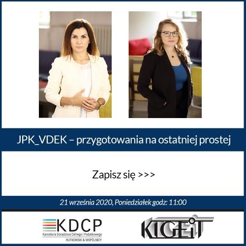 JPK_VDEK – przygotowania na ostatniej prostej