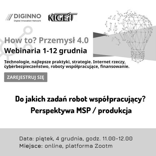 Do jakich zadań robot współpracujący? Perspektywa MSP / produkcja