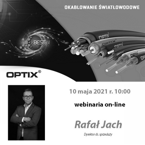 Przegląd kabli światłowodowych marki OPTIX.